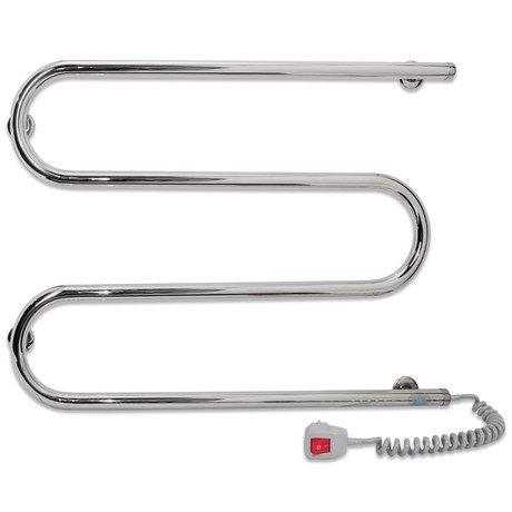 Купить Полотенцесушитель Laris Змеевик 25 РС3 700 х 500 Э (подкл. справа) - 2